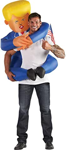 Inflatable Leader Piggyback Halloween Costume for Adults