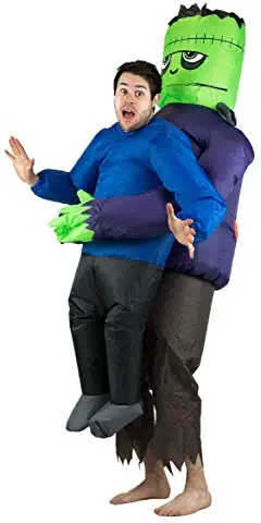 Adult Inflatable Frankenstein Lifting Fancy Dress Costume