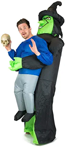 Adult Inflatable Witch Fancy Dress Costume