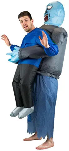 Adult Inflatable Zombie Fancy Dress Costume
