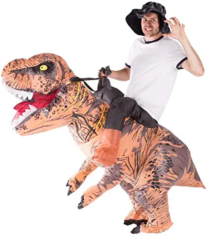 Adult inflatable disguise - Riding T Rex 44 99