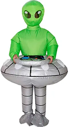 Alien Halloween Costume Inflatable Costume Fancy Dress Cosplay Outfit
