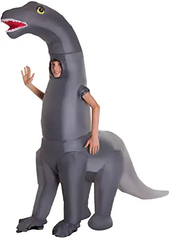 DIPLODOCUS Diplodocus Dinosaur Kids Boys or Girls Inflatable Blow Up Fancy Dress Costume - One Size