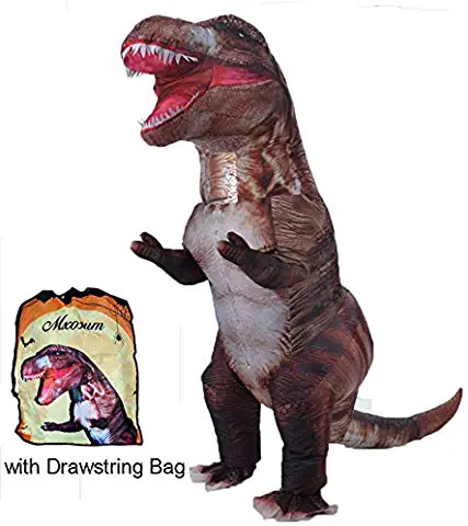 Dinosaur T Rex Blow Up Disguise 75 99 FOR ADULTS