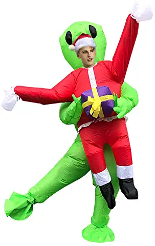 FollowMe Inflatable Costume Blow Up Costume Costumes for Adults or Kids Cosplay Party