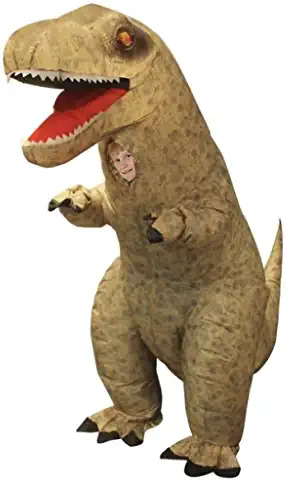 Giant T-Rex Inflatable Kids Costume, One Size