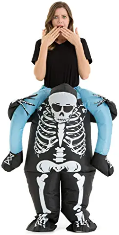 Hsctek Halloween Inflatable Ride On Costume for Adult