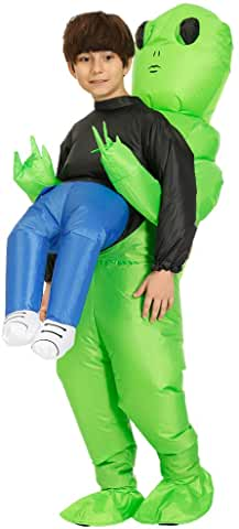 Inflatable Alien Hold me Costume