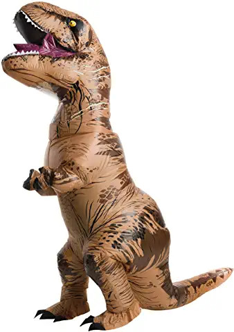 Jurassic World Plus Size Inflatable T Rex Costume 83 77 FOR ADULTS