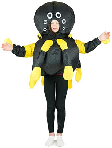 Kids Inflatable Spider Fancy Dress Costume