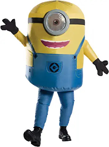 Minion adult inflatable costume ADULTS