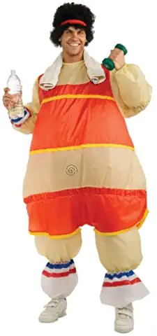 Costume Inflatable 80's Workout Guy Costume