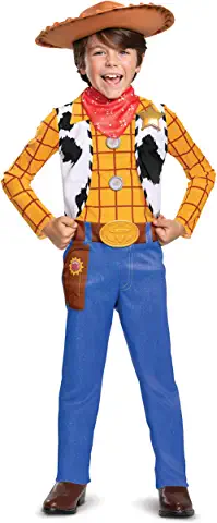 Woody Classic Toy Story 4 Child Costume, S (4-6)