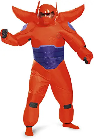 baymax dragon fighter inflatable fancy dress ADULTS
