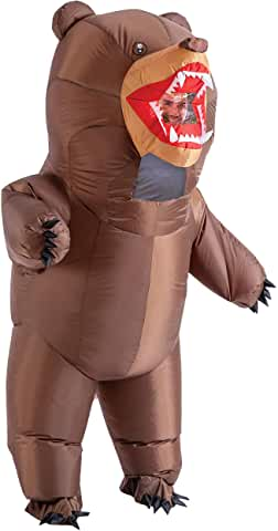 bear full body inflatable costume for adults