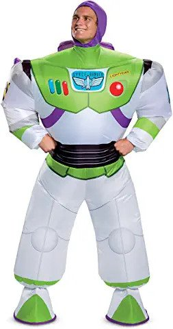 buzz lightyear adult inflatable costume