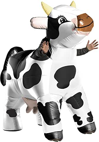 cow inflatable costume full body for adults 2