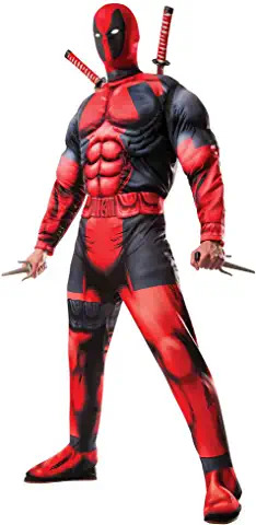 deadpool NOT INFLATABLE costume