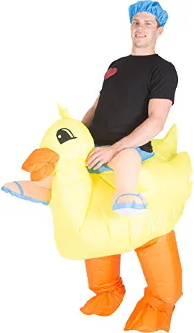 duck inflatable riding costume (1)
