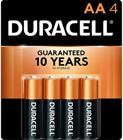 duracell 4 AA battery pack