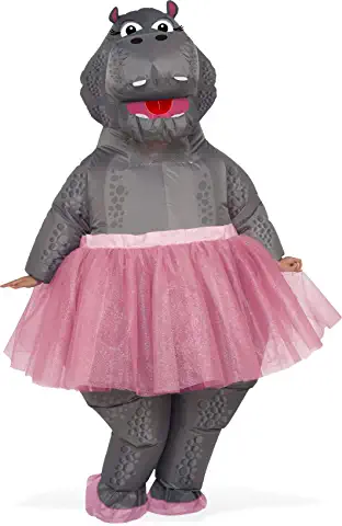 hippo inflatable costume for women