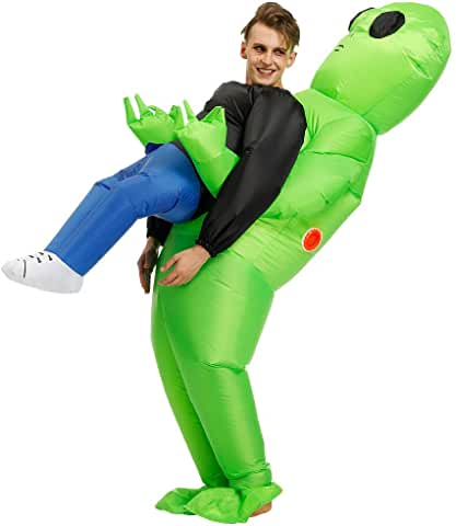 inflatable alien pick me up costume $15 99 USD