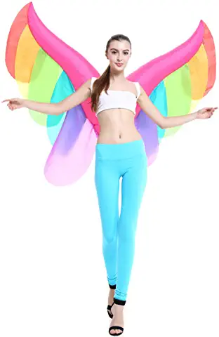 inflatable fairy wings, fairy blow up disguise