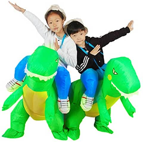 dino ride on inflatable dinosaur costume for kids