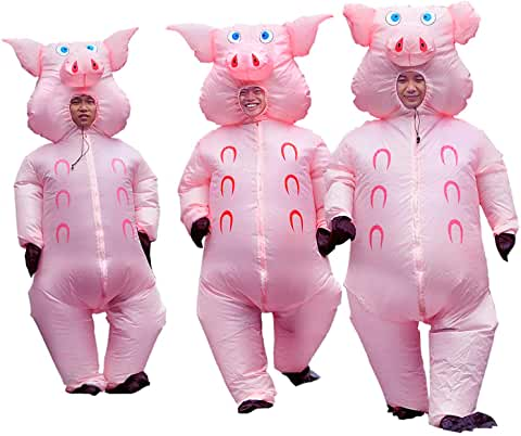pigs pinx full body inflatable fancy dresses