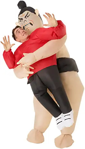 sumo inflatable costume 2 pick me up ADULTS