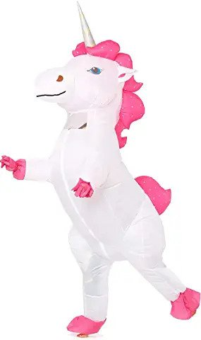 unicorn inflatable costume for girls